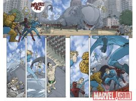 Image Featuring Spider-Man, Thing, Sub-Mariner, Human Torch