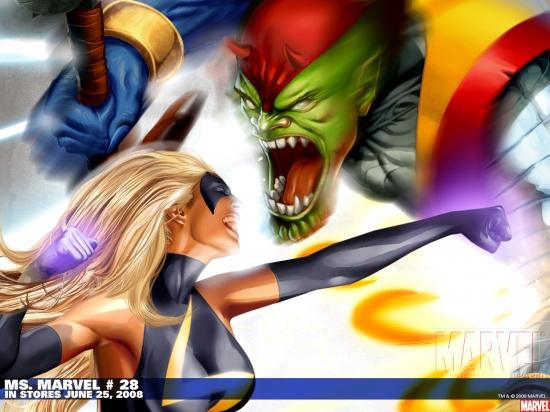 Ms. Marvel (2006) #28 Wallpaper