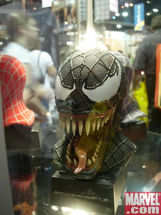 spiderman 3 venom mask. SPIDERMAN 3 VENOM REPLICA MASK