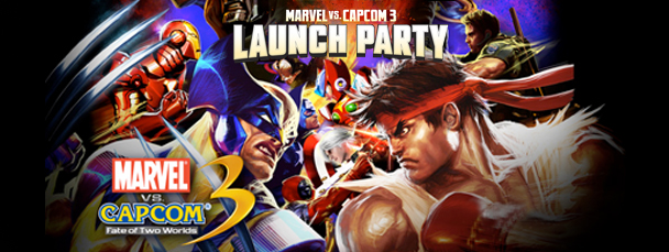 Watch Our Live Coverage Of The MvC3 Launch Event