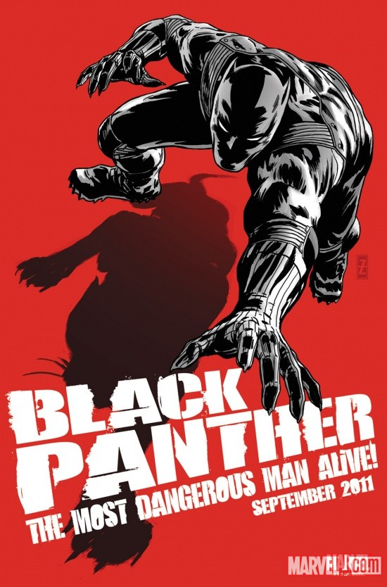 Black Panther: The Most Dangerous Man Alive promo by Patrick Zircher