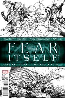 Fear Itself #1  (3rd Printing Variant)