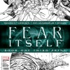 Fear Itself #1 3rd print cover art by Steve Mcniven