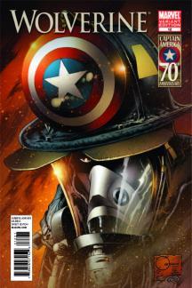 Wolverine #12  (I Am Captain America Variant)