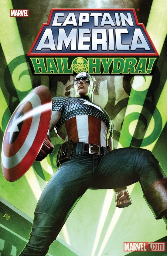 CAPTAIN AMERICA: HAIL HYDRA TPB cover by Adi Granov
