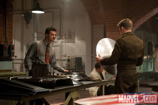 A screenshot from Captain America: The First Avenger