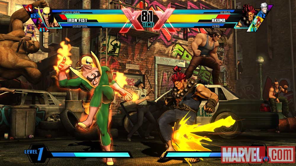 Ultimate Marvel vs. Capcom 3 Iron Fist Screenshot 11