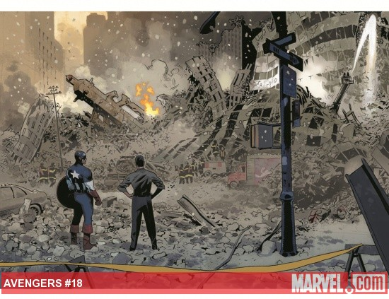 Avengers #18 preview art by Daniel Acuña