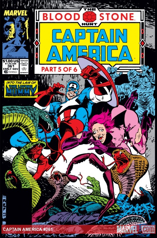 Captain America (1968) #361