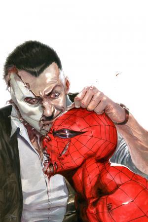 Chameleon vs. Spider-Man by Gabriele Dell'Otto