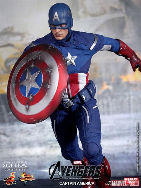 Новая фигурка Капитана Америка от Hot Toys