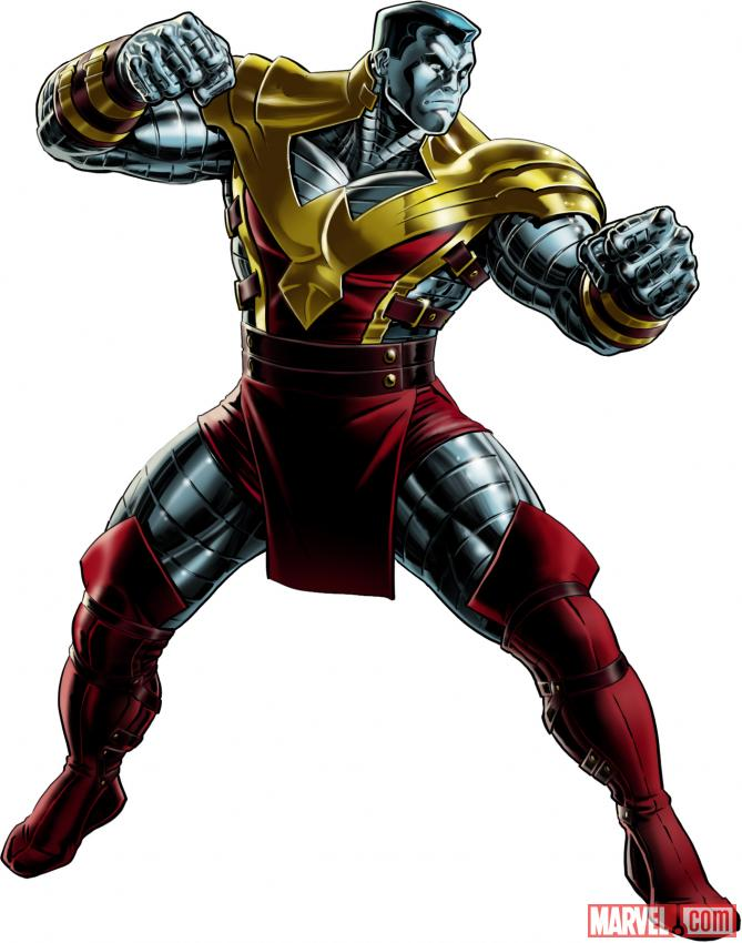 Colossus (alternate costume) character model from Marvel: Avengers Alliance
