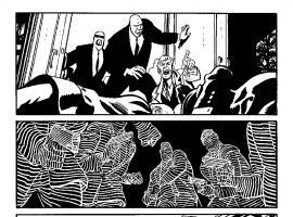 Daredevil (2011) #18 inked preview art by Chris Samnee