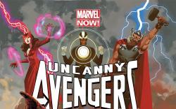 Uncanny Avengers #1 variant cover by Daniel Acuña
