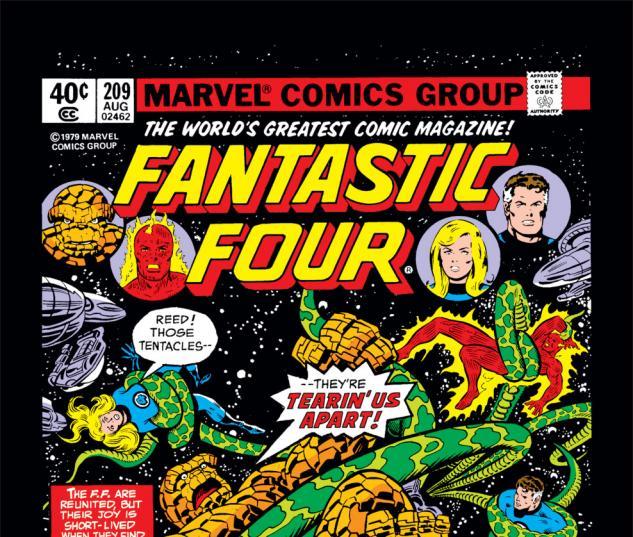 Fantastic Four (1961) #209 Cover