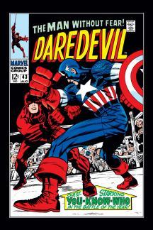 Daredevil (1963) #43 Cover