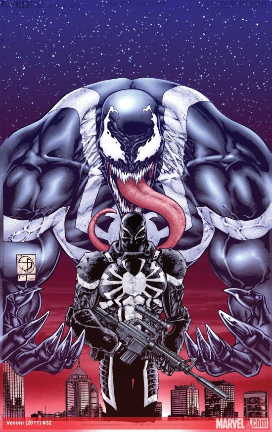 Venom (2011) #32 cover by Shane Davis