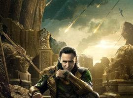 Loki character poster from Marvel's Thor: The Dark World