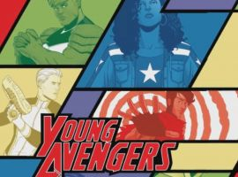 Marvel AR: Young Avengers #2 Cover Recap