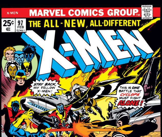 Uncanny X-Men (1963) #97 Cover