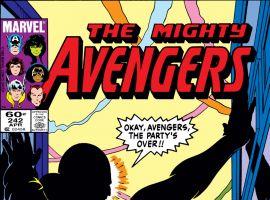 Avengers (1963) #242 Cover