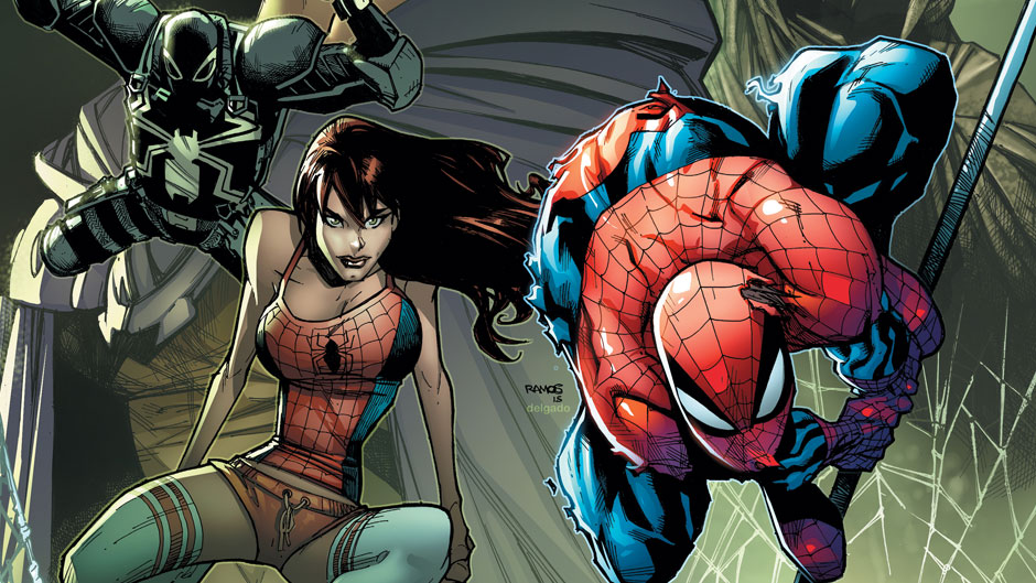 Spider-Island #1 cover by Humberto Ramos