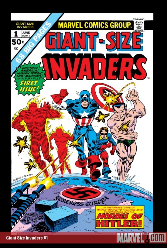 GIANT SIZE INVADERS #1 COVER