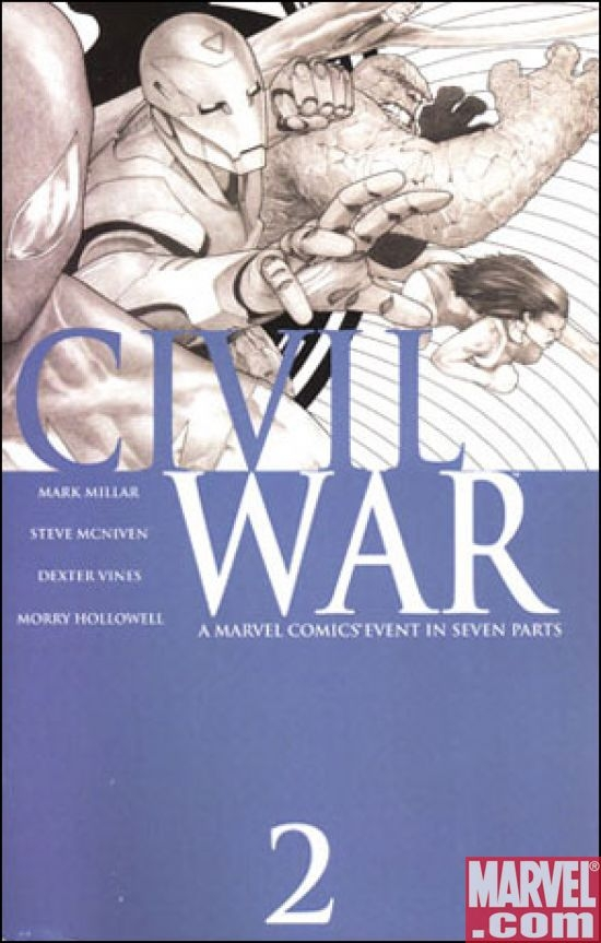 Civil War #2 3rd Printing