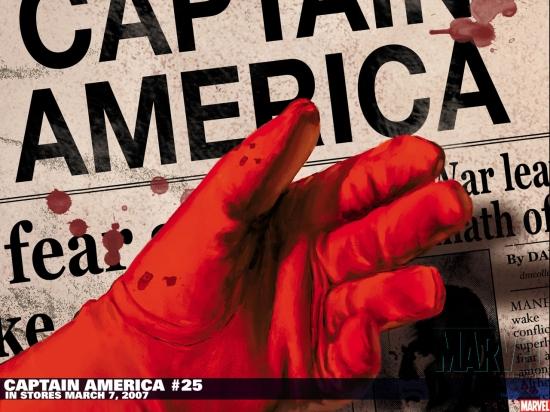 Captain America (1998) #25 Wallpaper