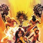 NEW MUTANTS #15 cover by Dave Wilkins