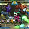 Screenshot of Ryu vs. Morrigan in Shadow Mode in Marvel vs. Capcom 3