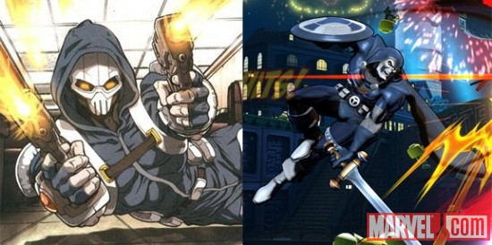 Marvel vs. Capcom 3 alternate costume: Udon Taskmaster