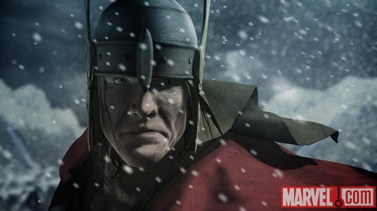 Screenshot of Thor from Thor & Loki: Blood Brothers