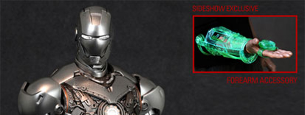 Iron Man Mark II - Armor Unleashed from Sideshow
