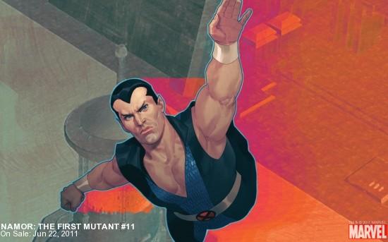 Namor: The First Mutant #11 Wallpaper