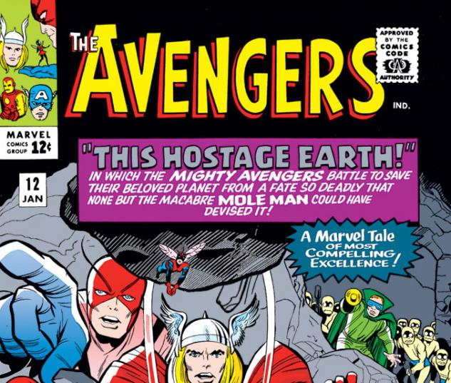 Avengers (1963) #12 cover