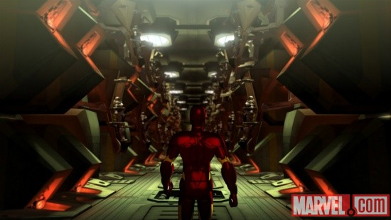 Screenshot from Iron Man: Armored Adventures Season 2, Episode 11