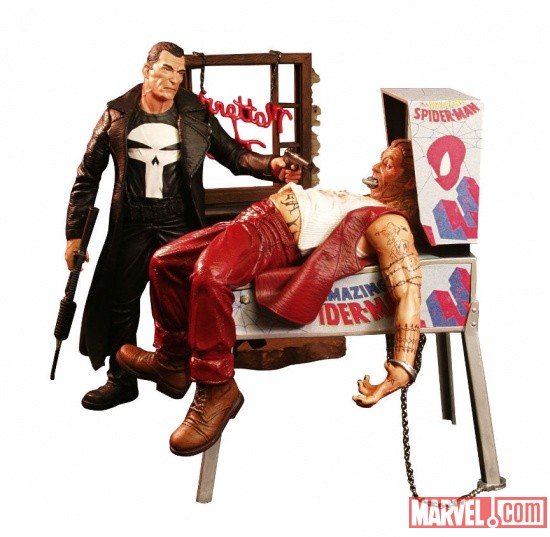 The Punisher Marvel Select figure by Diamond Select Toys