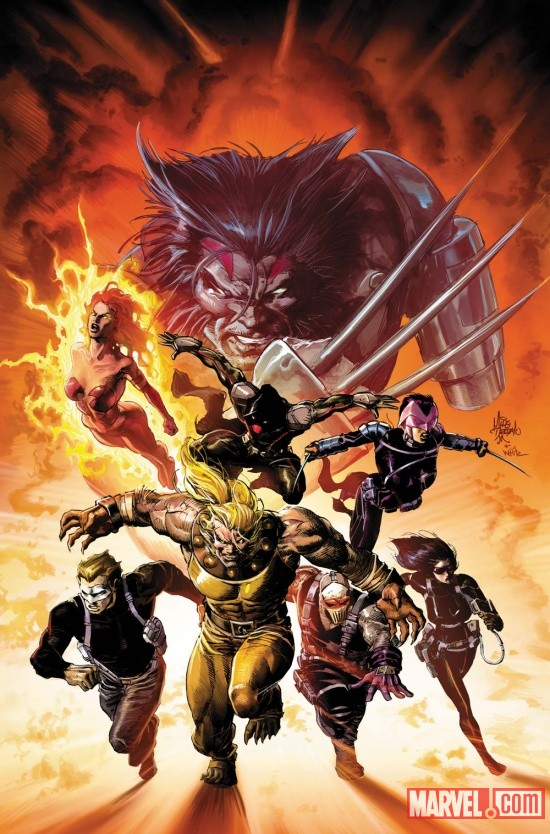 Uncanny X-Force #19.1 cover by Mike Deodato