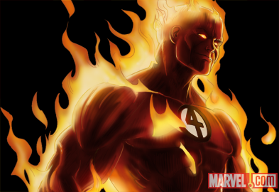 Human Torch from Marvel: Avengers Alliance