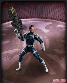 Coulson's Revenge gun from Marvel: Avengers Alliance
