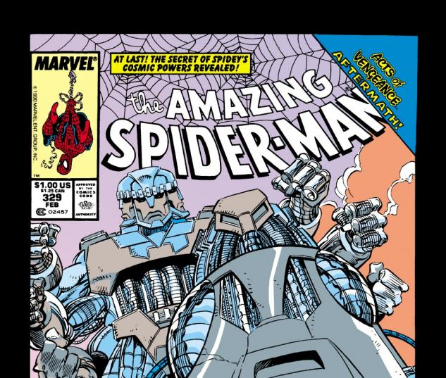 Amazing Spider-Man (1963) #329 Cover
