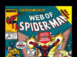 Web of Spider-Man (1985) #59 Cover