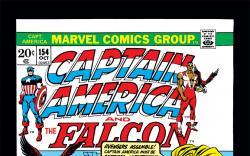 Captain America (1968) #154 Cover