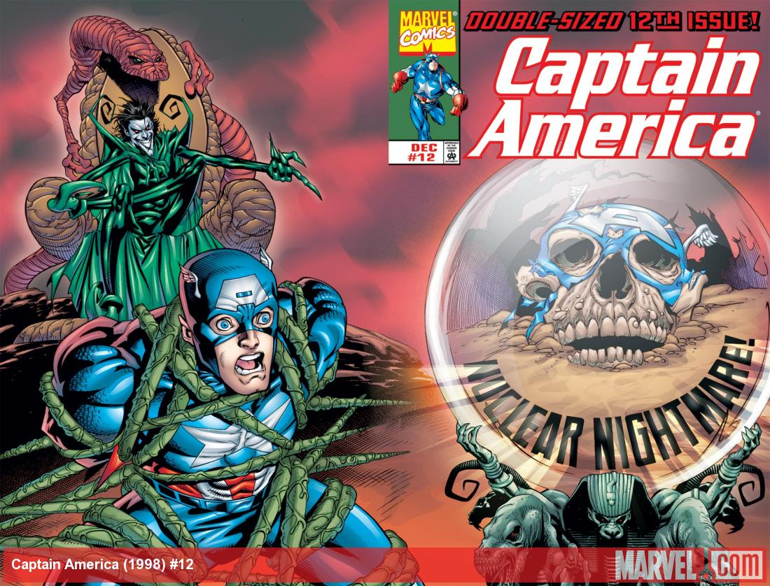Captain America (1998) #12 Cover
