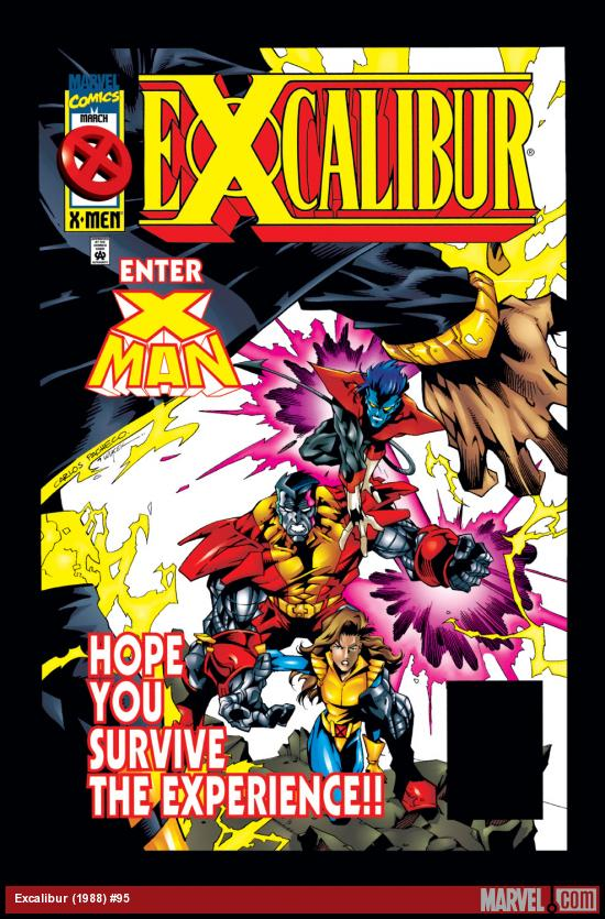Excalibur (1988) #95 Cover