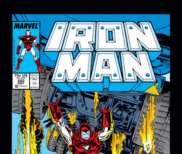 Iron Man (1968) #222 Cover