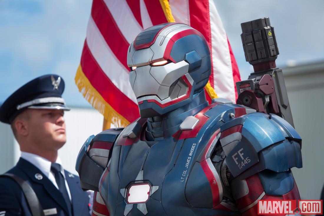 Die Iron Patriot Rüst...