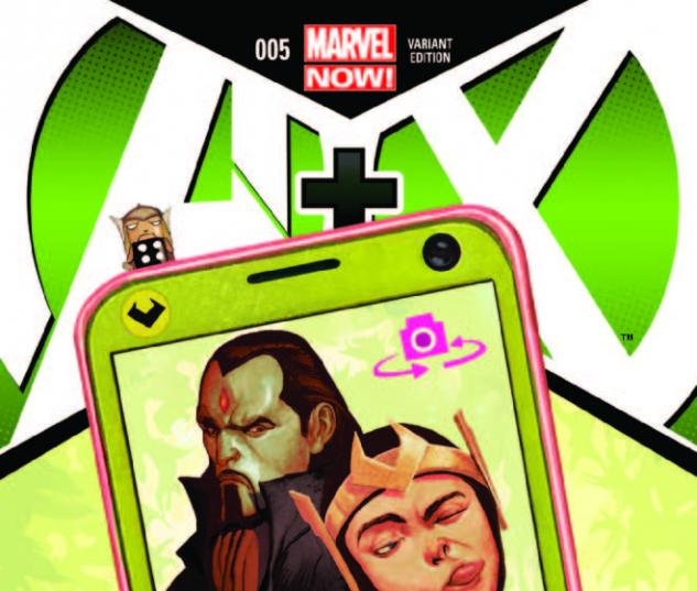 A+X 5 DEL MUNDO VARIANT (NOW, 1 FOR 50, WITH DIGITAL CODE)