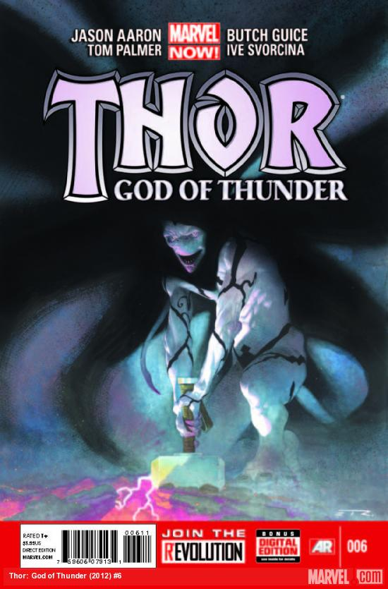 Thor God of Thunder #6 cover